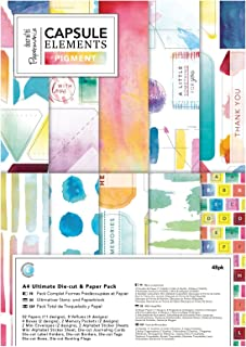 Papermania Paper Pack, Multi-Colour, A4