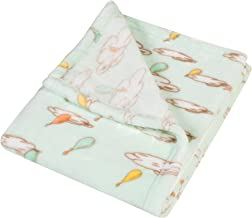 Trend Lab Plush Baby Blanket, Multi Dr. Seuss Oh The Places You'll Go!