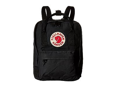 Fjallraven Kanken Mini (Black) Backpack Bags