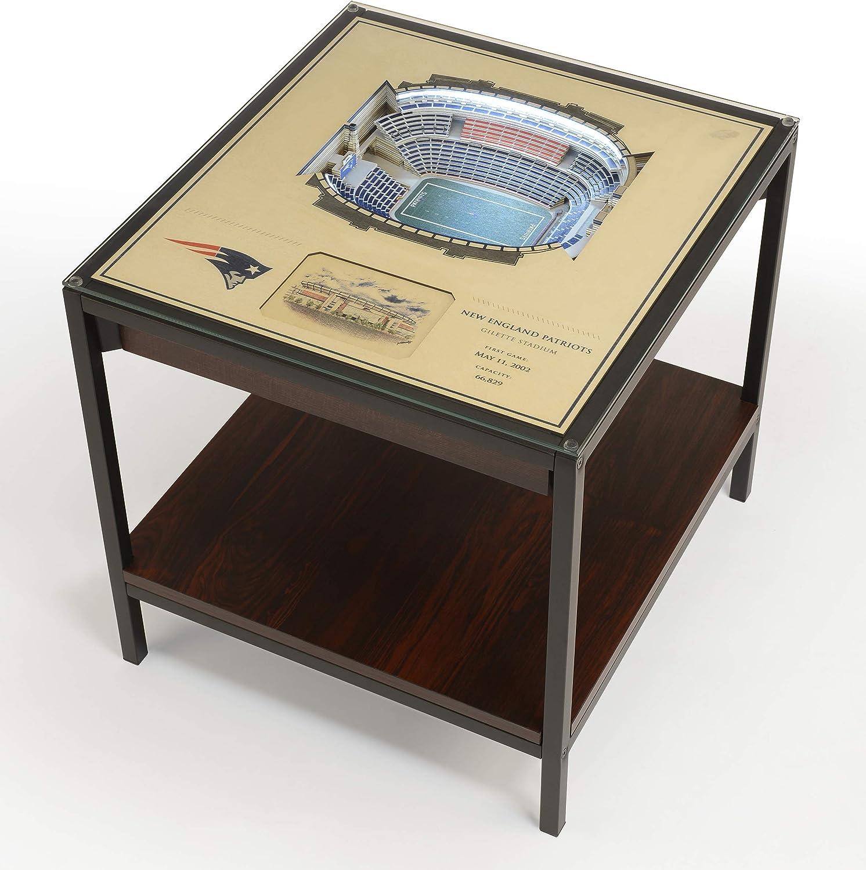 YouTheFan NFL 25-Layer Elegant Team StadiumViews Lighted quality assurance Table