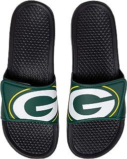 NFL Unisex - Big Logo Slide Flip Flops Sandals