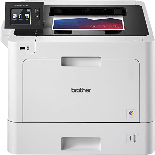 Brother Business Color Laser Printer, HL-L8360CDW, Wireless Networking, Automatic Duplex Printing, Mobile Printing, C...