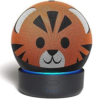 $28 » GGMM D4 Battery Base for Echo Dot 4th Gen, Portable Amazon Alexa Echo Dot Accessories, Wireless Battery Stand for Alexa De...