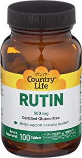 Country Life Rutin 500 mg, 100-Count