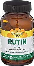 Country Life Rutin 500 mg, 100-Count