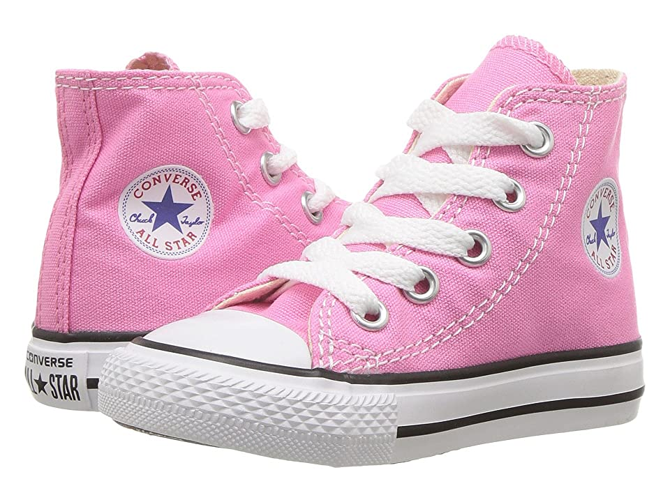 Converse Kids Chuck Taylor(r) All Star(r) Core Hi (Infant/Toddler) (Pink) Kids Shoes
