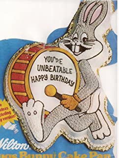 Wilton Bugs Bunny with Drum Birthday Cake Pan 2105-3351