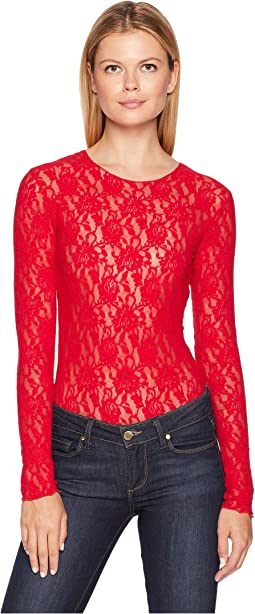 Lace Long Sleeve Bodysuit