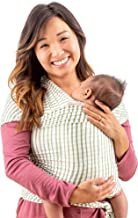 WeeSprout Baby Wrap Carrier - Perfect Baby Carrier Wrap Sling for Newborn and Infant - Enhances Baby Bonding - Soft and Br...