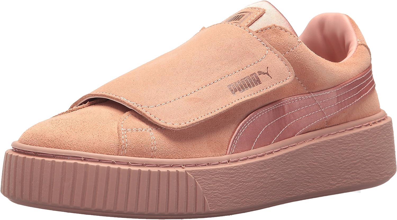 PUMA Womens Platform Strap Satin En Pointe Wn Sneaker
