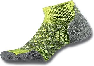 Thorlos Experia unisex-adult Experia Energy Thin Padded Compression Low Cut Socks Running Socks
