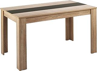 Homexperts Nico Table, Panneau de Particules, chêne, 120 x 80 cm
