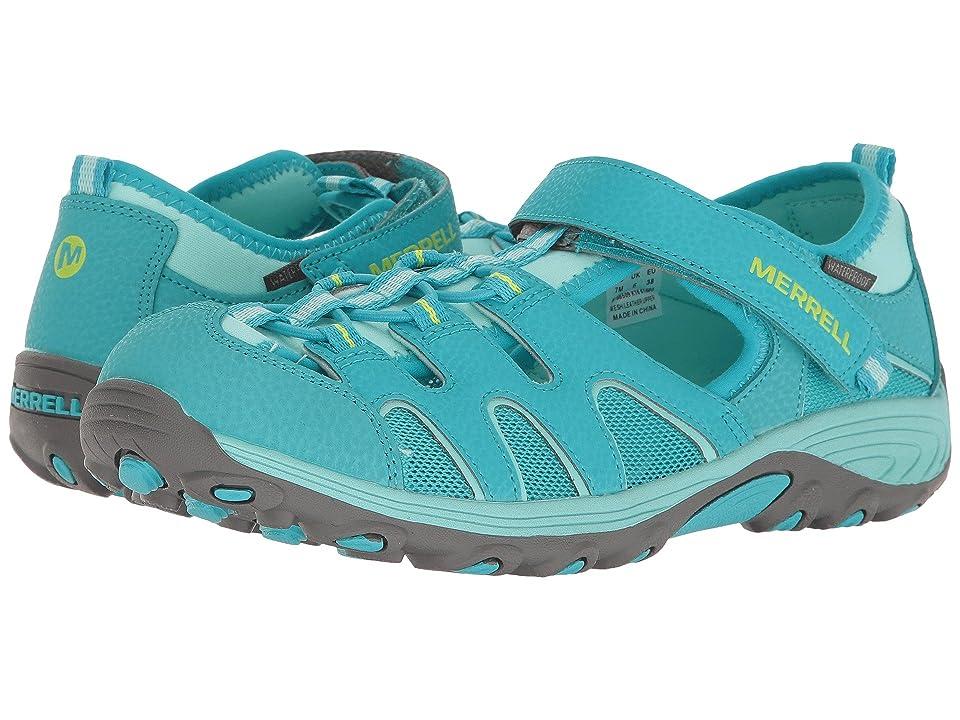 Merrell Kids Hydro H2O Hiker Sandal (Toddler/Little Kid/Big Kid) (Turquoise) Girls Shoes