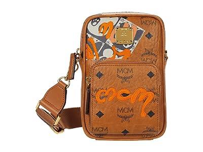 MCM Berlin Bear Crossbody Mini (Cognac) Bags