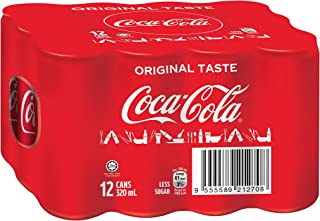 Coca-Cola Original Taste, 320 ml (Pack of 12)