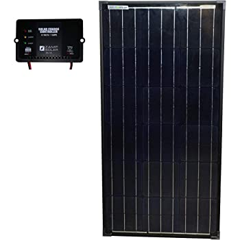 Amazon Com Zamp Solar Legacy Series 90 Watt Long Portable Solar Panel Kit With Integrated Charge Controller And Carrying Case Off Grid Solar Power For Rv Battery Charging Usp1007 Garden Outdoor