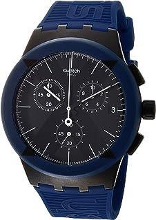 Swatch X-DISTRICT BLUE Blue Strap Watch - SUSB418