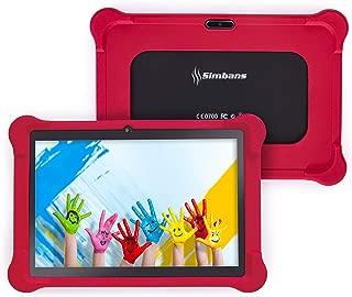 [4 Bonus Item] Simbans TangoTab 10 Inch Kids Tablet with RED Bumper Case | 2GB RAM, 32GB Disk, Android 8.1 Oreo | WiFi, USB, HDMI, Bluetooth | IPS Screen, Quad Core CPU, 2+5 MP Camera Computer PC