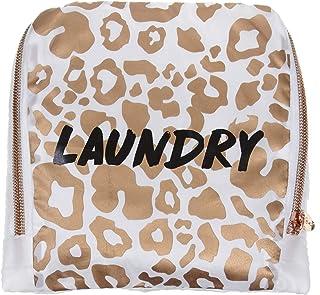 MIAMICA Leopard Travel Laundry Bag, Laundry