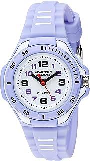 Armitron Sport Women's 25/6433PUR Easy to Read Light Purple Silicone Strap Watch