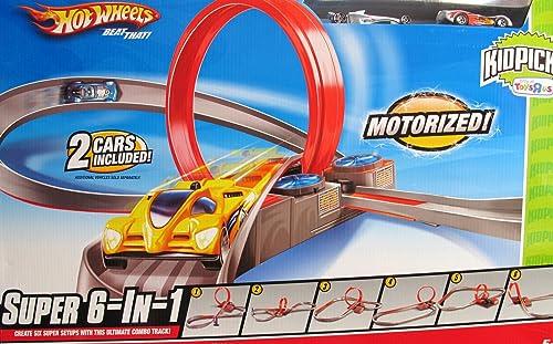 Hot Wheels KidPicks Super 6-in-1 Track Set by Hot Wheels