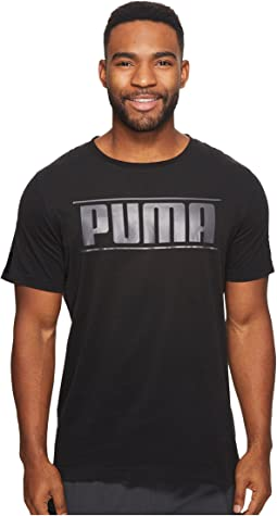 PUMA - Rebel Tape Logo Tee
