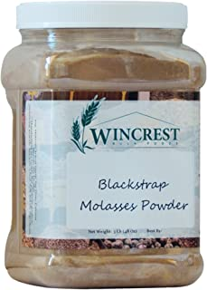 Blackstrap Molasses Powder - 3 Lb Economy Size Container