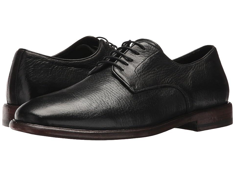 Frye Fisher Oxford (Black Deer Skin Leather) Men