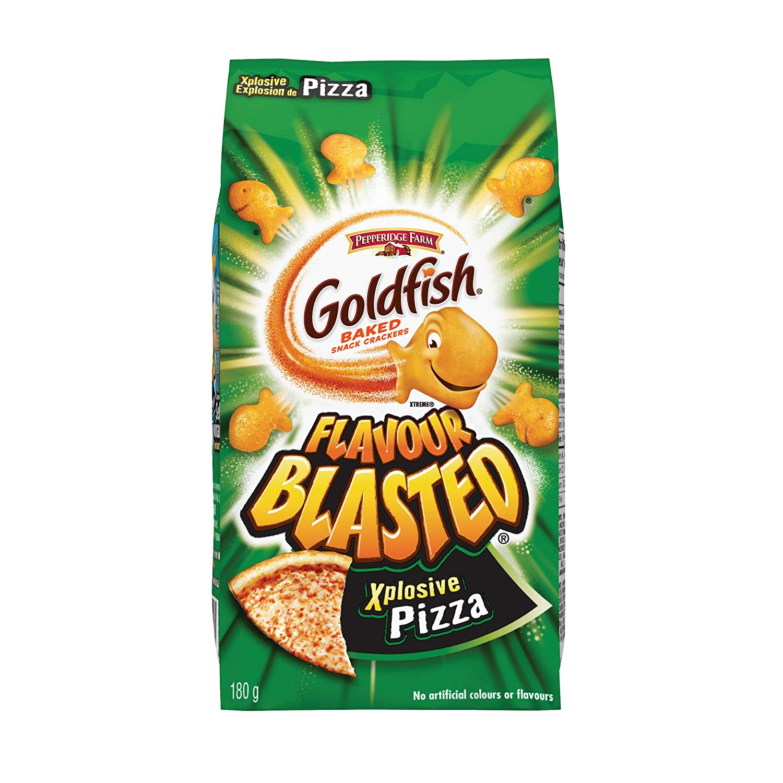 Charlotte Max 90% OFF Mall Pepperidge Farm Goldfish Flavour Blasted Pizza Xplosive