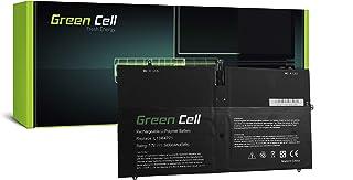 Green Cell® L13M4P71 L14S4P71 Batería para Lenovo Yoga 3 Pro 1370 20448 80HE Ordenador (5800mAh 7.7V Negro)