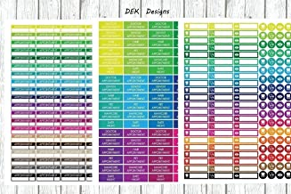 Planner stickers, calendar stickers,