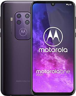 Motorola Un zoom | desbloqueado | solo GSM | 4/128GB | 48MP | 2019 | Púrpura, Cósmica, Pantalla de 6,4 pulgadas (renovada)