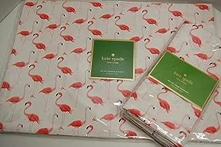 Bundle Kate Spade Strut Your Stuff Place mats (4) and Table Napkins (4) Flamingos