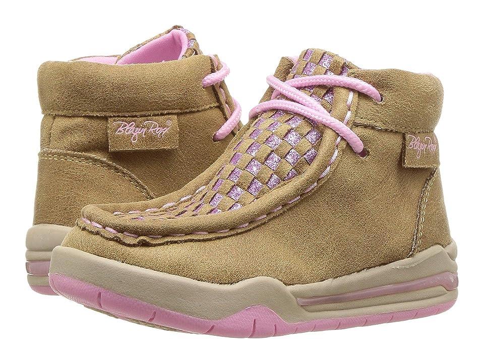 M&F Western Kids Lauren (Toddler) (Tan) Cowboy Boots