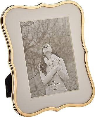 "Kate Spade Crown Point Gold 5"" x 7"" Frame, 1.55 LB, Metallic"