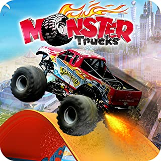 Hot Monster Truck Stunts Racing - Truck Simulator New Game 2019