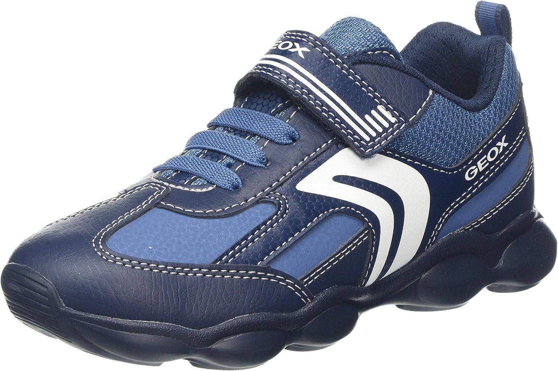 Geox スーパーセール期間限定 期間限定 Unisex-Child Sneakers Low-top
