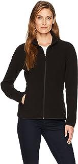 Women's Classic Fit Long-Sleeve Full-Zip Polar Soft...