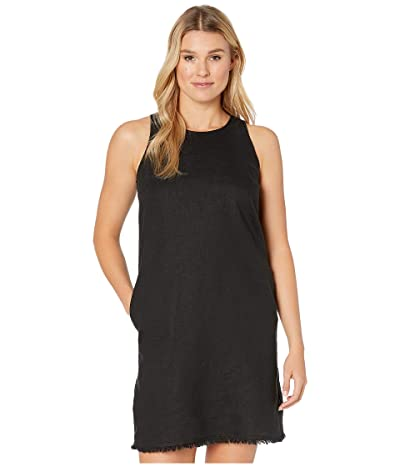 Tommy Bahama Two Palms Sleeveless Short Dress (Black) Women