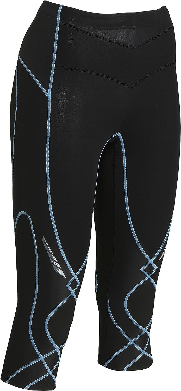 CWX Conditioning Wear Women's 3 4 Insulator Stabilyx Tights, Black, XSmall