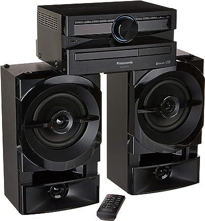 Mini System, Panasonic, SC-AKX100LBK, Preto