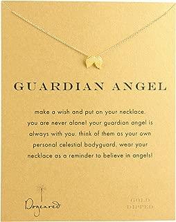 Women's Guardian Angel Reminder Necklace