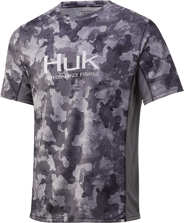 Award-winning store HUK Men's Icon X Camo Fishing Shirt Long Sleeve Super sale period limited Performance