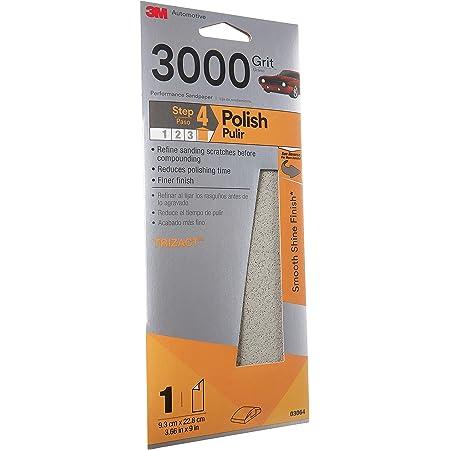 Sandpaper 5 1//2 X 9 Combo 2000 2500 3000 5000 2 ea. 8 PC