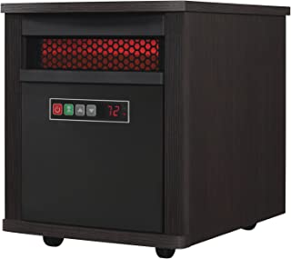 Duraflame Electric Portable Infrared Quartz Electric Heater, Espresso