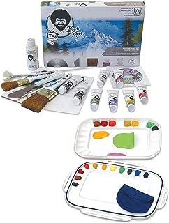 Bob Ross Painting Kit - Martin/F. Weber Bob Ross Master Paint Set - Martin/F. Weber Artelier Paint Palette/Storage/Travel kit