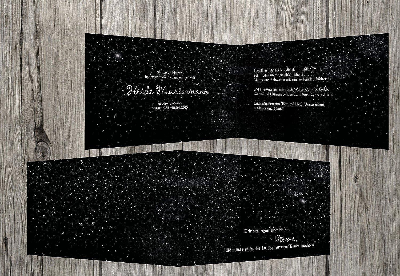 punto de venta en línea Agradecimiento luto Estrellary Sky, negro, negro, negro, 40 Karten  preferente