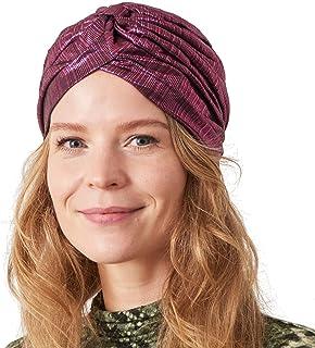 عمامة عمامة عرافة للنساء - إكسسوار أفريقي معدني قبعة كيمو للشعر