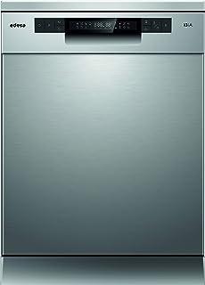 Edesa | Lavavajillas de libre instalación | Modelo: EDW-6133 X | 60 cm de ancho | 7 Programa | Clase de eficiencia energética: A+++ | Color: INOX