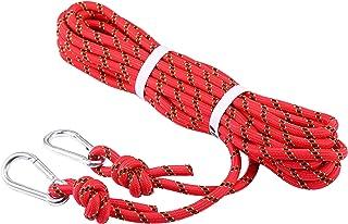 Selighting Cuerda de Seguridad Cuerda de Escalada Profesional de Alta Resistencia para Escalar al Aire Libre y en Interiore Perfessional Rappelling Auxiliar, 10 mm de Diámetro